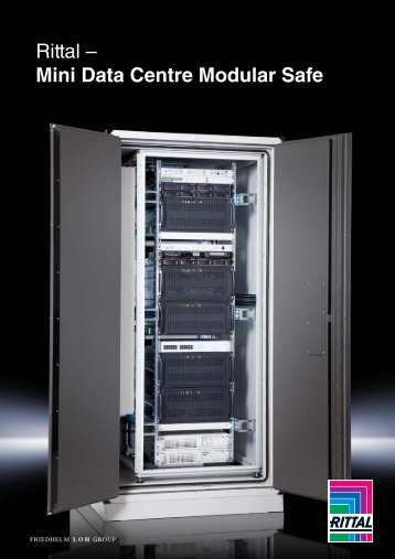 Rittal - Mini Data Centre Modular Safe