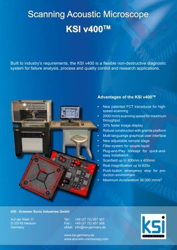 v-400 Brochure - Electron Mec