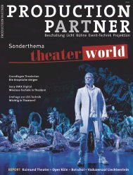 Theater World, Ausgabe 2012 - Pro Media News