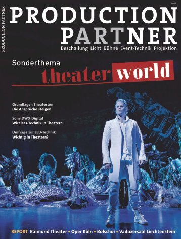 Theater World, Ausgabe 2012 - Pro Media News