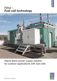 Fuel cells for outdoor applications