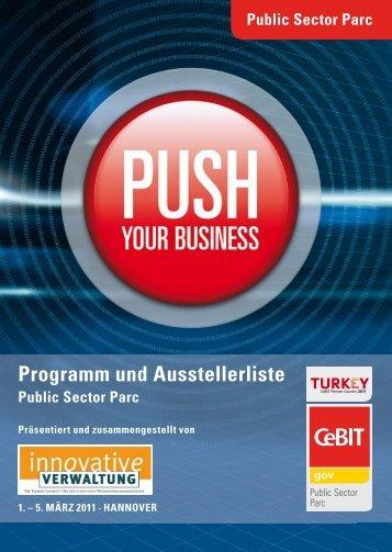 Programm und Ausstellerliste - Innovative Verwaltung