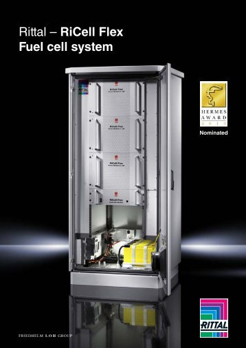 Rittal – RiCell Flex Fuel cell system