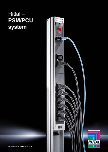Rittal - PSM/PCU system - RittalXpress