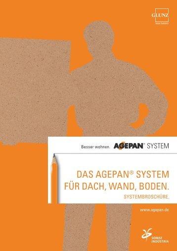 Das AGEPAN System auf einen Blick - Die Glunz AG