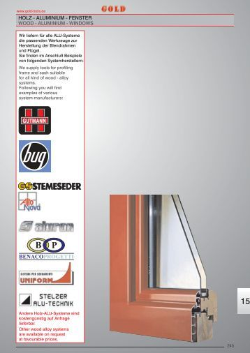 Holz alu fenster system alto nova wood for Holz aluminium fenster