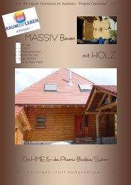 MASSIV Bauen mit HOLZ Das Phoenix Blockbau ... - Projekt Oekotop