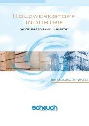 Technology for clean air Holzwerkstoffindustrie (PDF ... - SCHEUCH