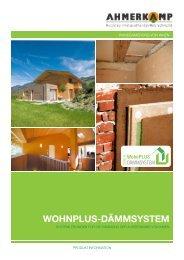 Wohnplus-dämmsystem - Holz Ahmerkamp