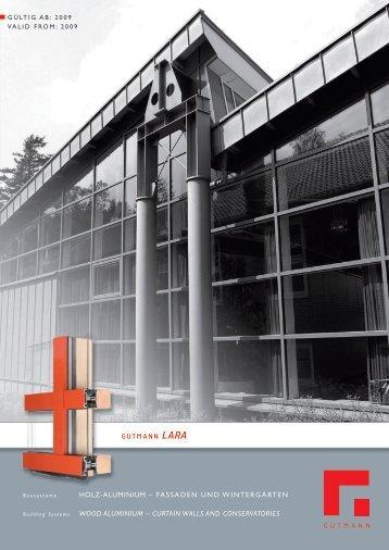 HOLZ-ALUMINIUM – FASSADEN UND ... - Gutmann AG