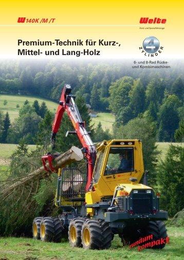 Premium-Technik für Kurz-, Mittel- und Lang-Holz - Welte