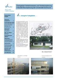 VPLetter 04 - Fachgebiet Verkehrswesen und Verkehrsplanung