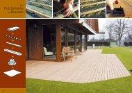 Holzterrasse als Bausatz