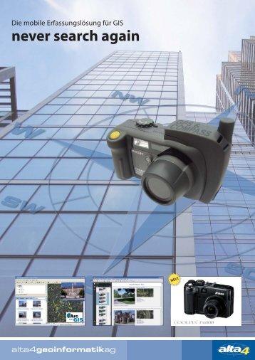 never search again compatible www.gps-kamera.de - Alta4