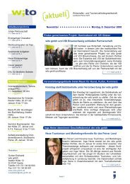 2008 - Ausgabe 3 - Wirtschafts- und Tourismusfördergesellschaft ...