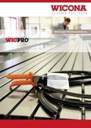 Download Broschüre Werkzeuge ... - Wicona Schweiz