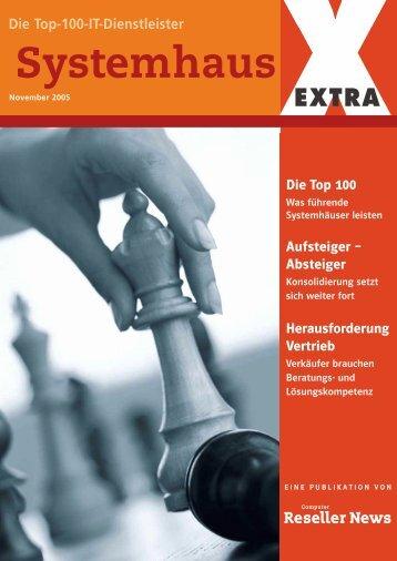Systemhaus EXTRA Die Top-100-IT-Dienstleister - WTG