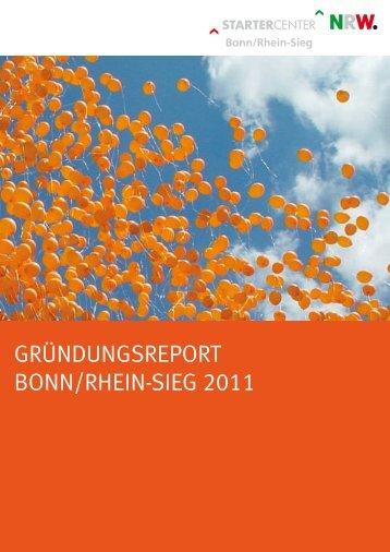 GründunGsreport Bonn/rhein-sieG 2011 - Rhein-Sieg-Kreis