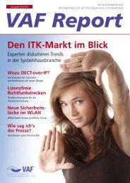 VAF-Report 03/2010 - VAF - Bundesverband Telekommunikation eV