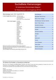 Medienspiegel Nationaler Spitex-Tag 2016 - Spitex Schweiz