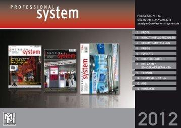 preisliste nr. 14 gültig ab 1. januar 2012 - MM-Musik-Media-Verlag