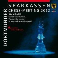 SPARKASSEN D O R T M U N D E R - Sparkassen Chess-Meeting