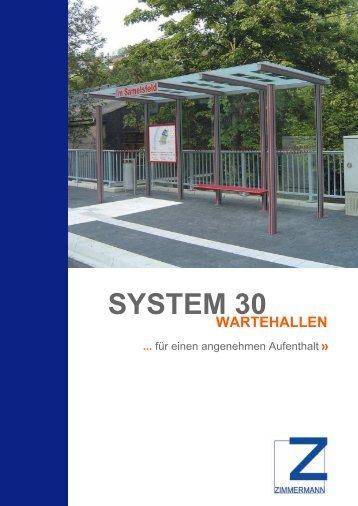 SYSTEM 30 - Zimmermann Stadtmöblierung