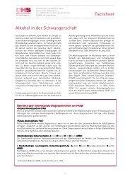 Alkohol in der Schwangerschaft und Fetales Alkohol - Aktionswoche ...