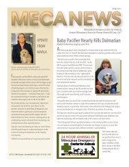 Baby Pacifier Nearly Kills Dalmatian - Milwaukee Emergency Center ...