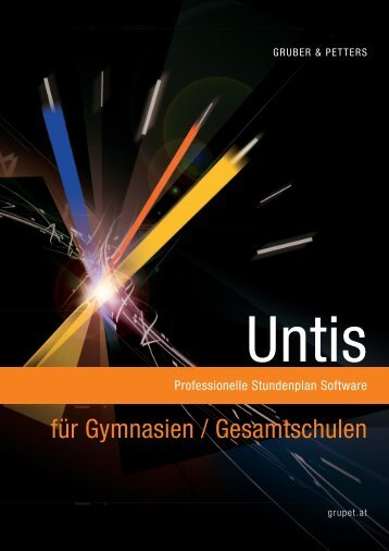 Untis für Gymnasien - Lander Software