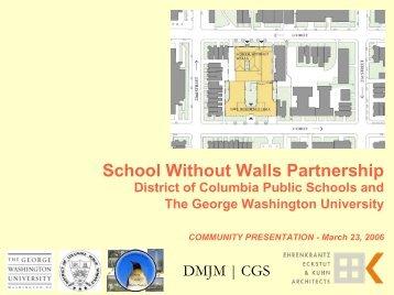 School Without Walls Partnership - Neighborhood - George ...