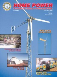 Home Power 65, June & July 1998 - Library