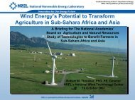 Wind Energy's Potential to Transform Agriculture - The National ...