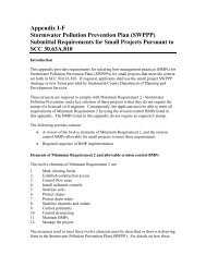 Appendix I-F Stormwater Pollution Prevention Plan (SWPPP ...