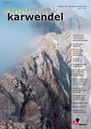 Magazin der Alpenpark-Gemeinden - Alpenpark Karwendel