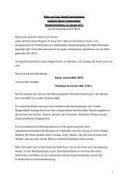 Neujahrsansprache der Oberbürgermeisterin 2013 - Stadt Filderstadt