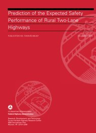 Prediction of the Expected Safety Performance of Rural - Federal ...