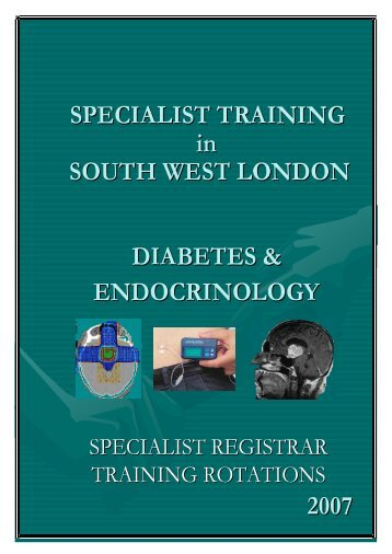 SW Thames Prospectus - South Thames Diabetes and Endocrinology