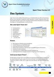 Das System - Xpert-Design