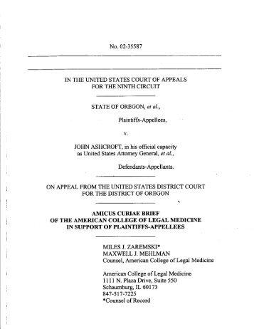 American College of Legal Medicine - Nightingale Alliance