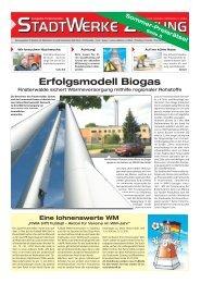 Ausgabe Juni 2010 - Stadtwerke Finsterwalde