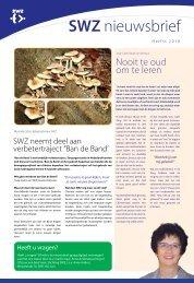 Medezeggenschap cliënten SWZ Behandeling en begeleiding in de ...