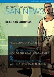 SAN News Ausgabe Januar 2013