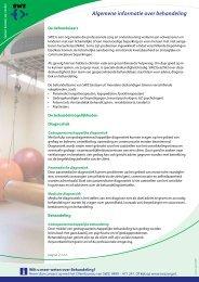 Algemene informatie over behandeling - SWZ