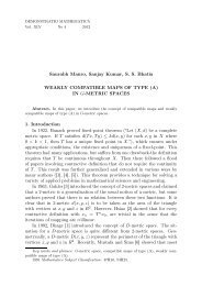 (A) IN G-METRIC SPACES 1. Introduction In 1922, Banach