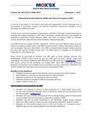 Circular No: MCX-SX/IT/880/2012 November 1, 2012 Nationwide ...