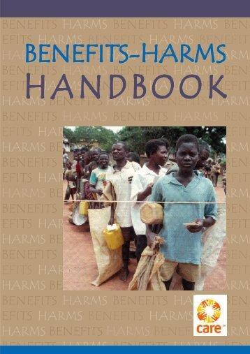 Benefits-Harms Handbook - PQDL: Program Quality Digital Library ...