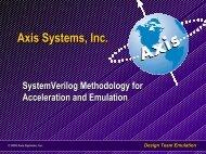 Design Team Emulation - SystemVerilog