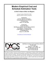 Modern Empirical Cost and Schedule Estimation Tools