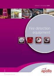 Fire detection equipment - VIS Security